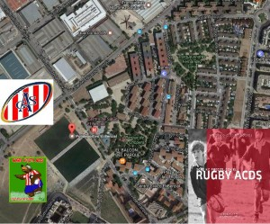 Acceso Campo Rugby