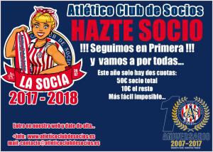 Camp Socios 2017 18