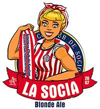 Cerveza La socia