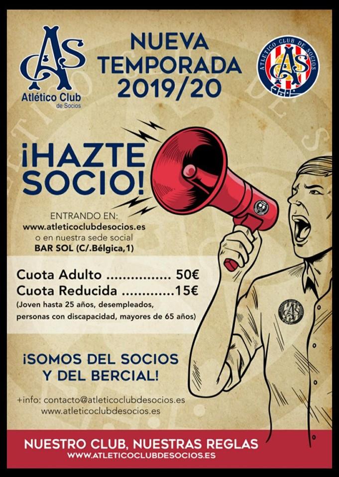 Hazte Socio 20192020