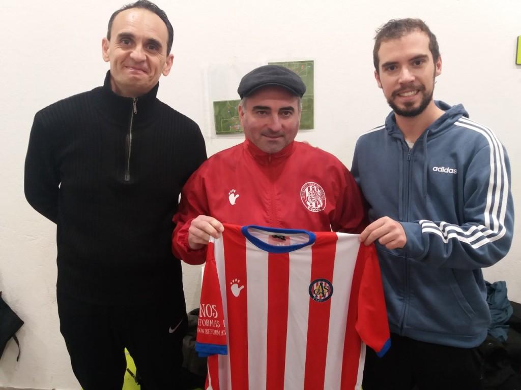 cuerpo técnico del primer equipo del Atlético Club de Socios